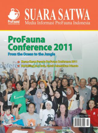 Cover Suara Satwa Online Volume XV No. 2/April - Juni 2011