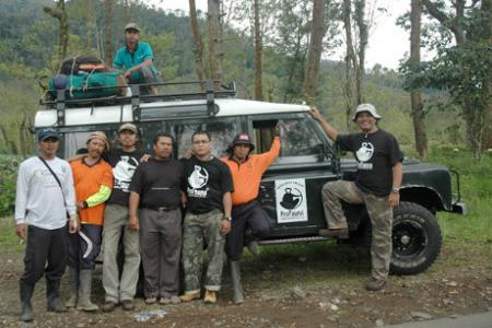 ProFauna and Rangers Patrol the Tropical Rain Forest in East Java