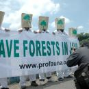 ProFauna campaigns on the protection of the remaining forests in Java Island