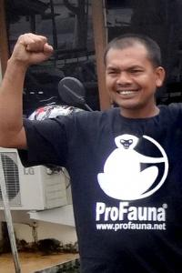 The coordinator of this brand-new chapter is Asril, an old supporter of ProFauna who is also prominent figure in Sumatran orangutan conservation.