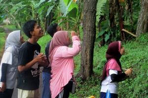 ProFauna's Supporters from Sidoarjo Chapter Observed Wildlife in Lemongan Mountain