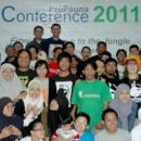 Supporters from All Over Indonesia in ProFauna Conference 2011
