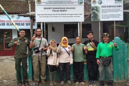 tim KSDA dan PROFAUNA untuk Pulau Sempu